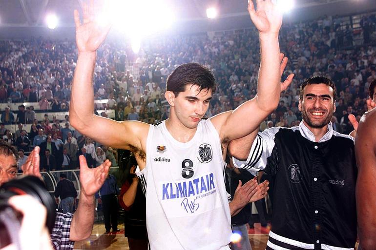 """Predrag """"Peja"""" Stojaković (PAOK Saloniki)"""
