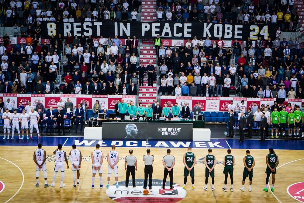 Kobe Bryant RIP (Anwil Włocławek - Teksut Bandirma)