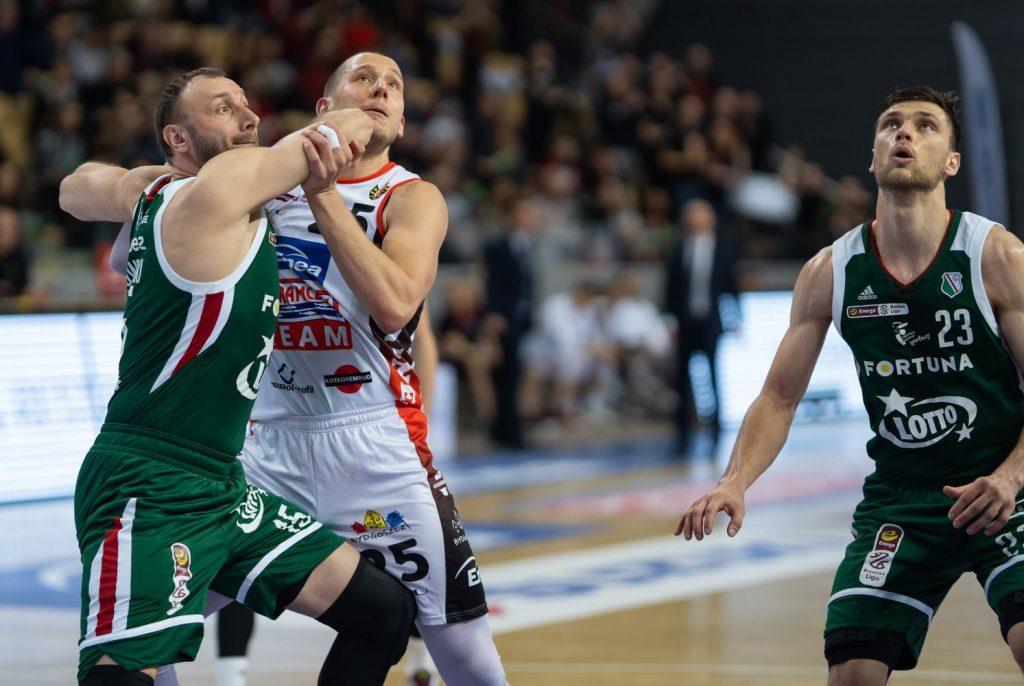 Adam Linowski (Legia Warszawa), Michał Nowakowski (Astoria Bydgoszcz) iMichał Michalak (Legia Warszawa)
