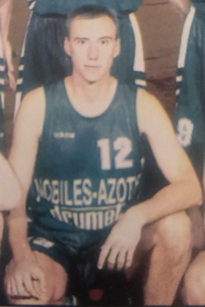 Igor Griszczuk Nobiles Włocławek sezon 1996/1997